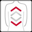 Casada Streckmassage im Rückenbereich