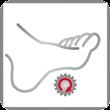 Casada Fußroller