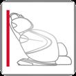 Casada Platzsparende Massagesessel