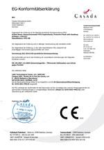 EG-Konformitätserklärung FFP2-Maske