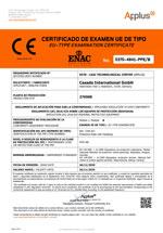 FFP2-Maske Modul B Zertifikat