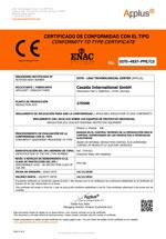 FFP2-Maske Modul C2 Zertifikat