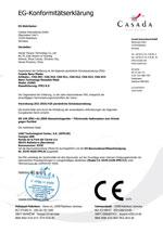 EG-Konformitätserklärung Nano-Maske