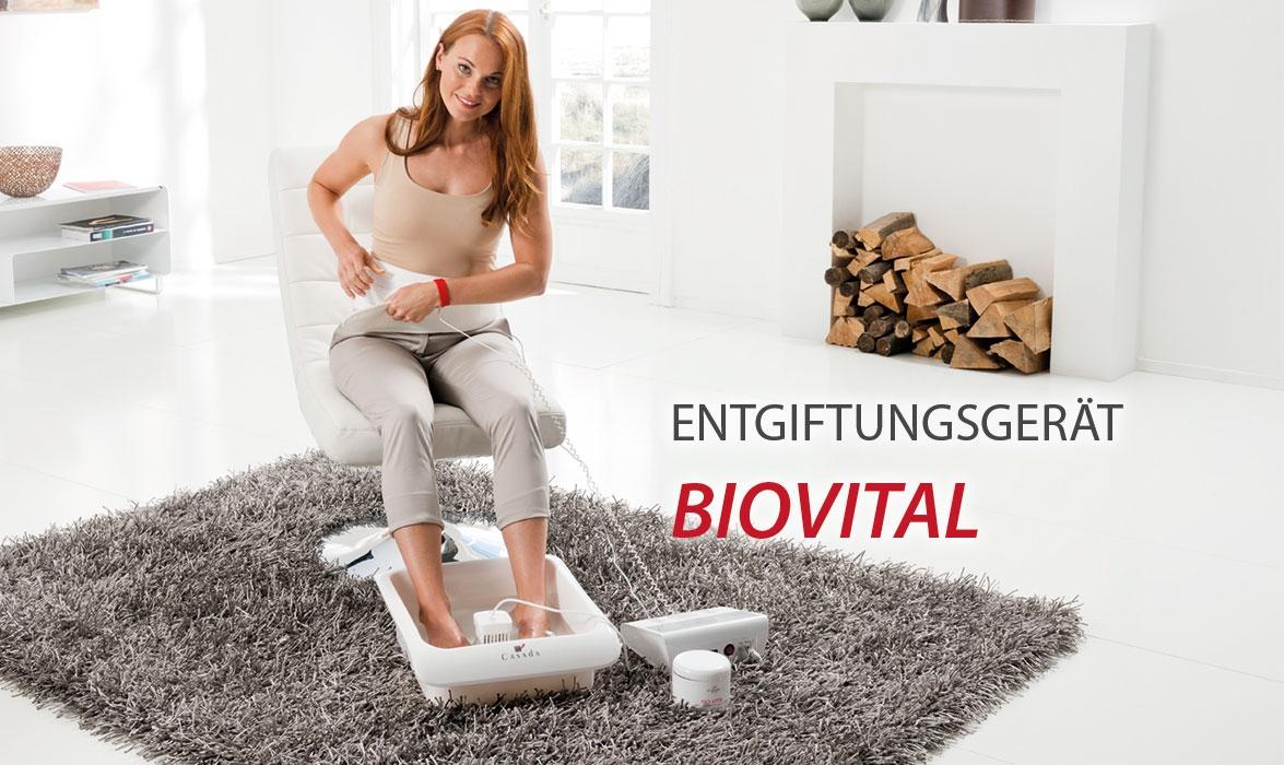 Entgiftungsgerät Bio Vital