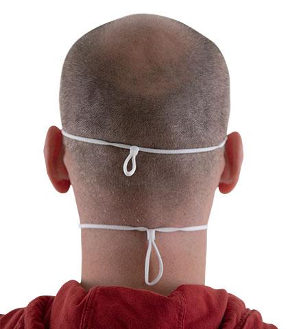 FFP2 Maske mit doppelter Kopfschlaufe