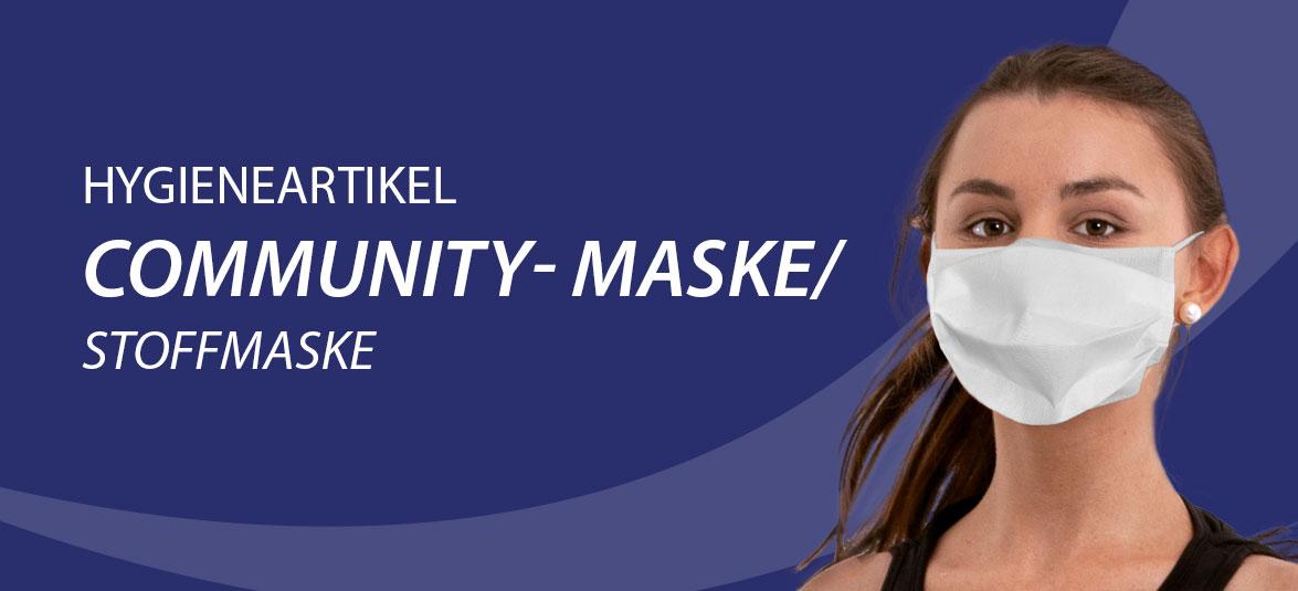 Hygineartikel Community-Maske