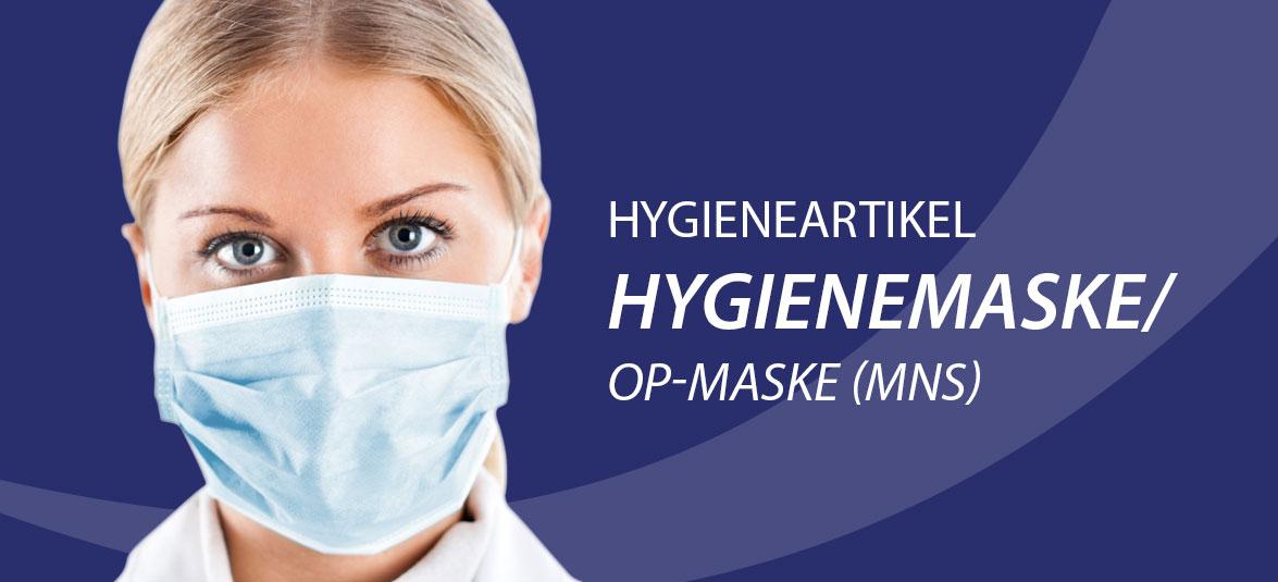 Hygineartikel Hygienemaske
