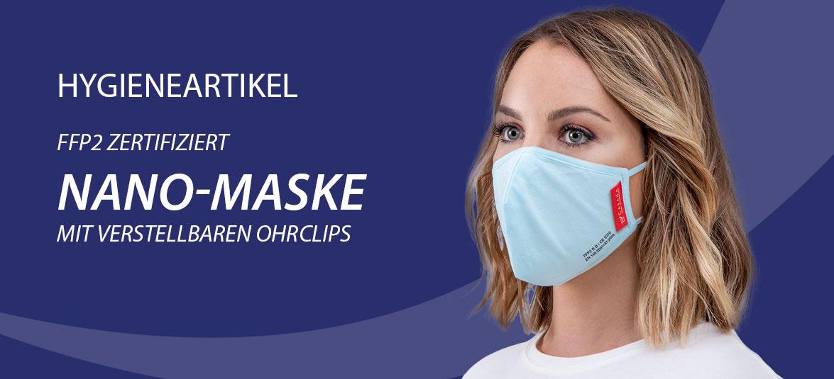 Hygieneartikel Nano-Maske
