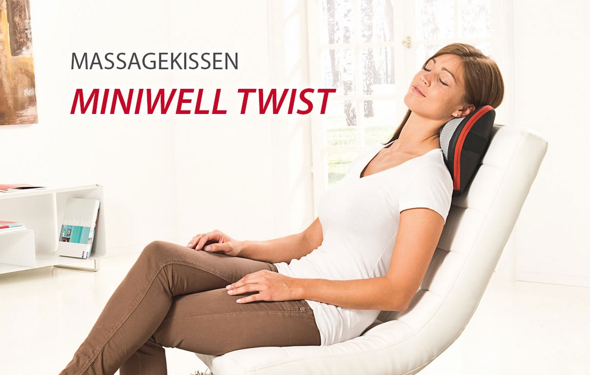 Massagekissen Miniwell Twist