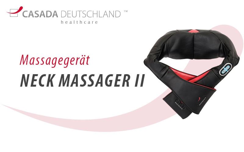 Neck Massager II by Casada Deutschland