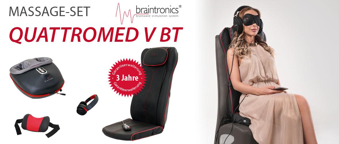 Massage-Set Quattromed V BT
