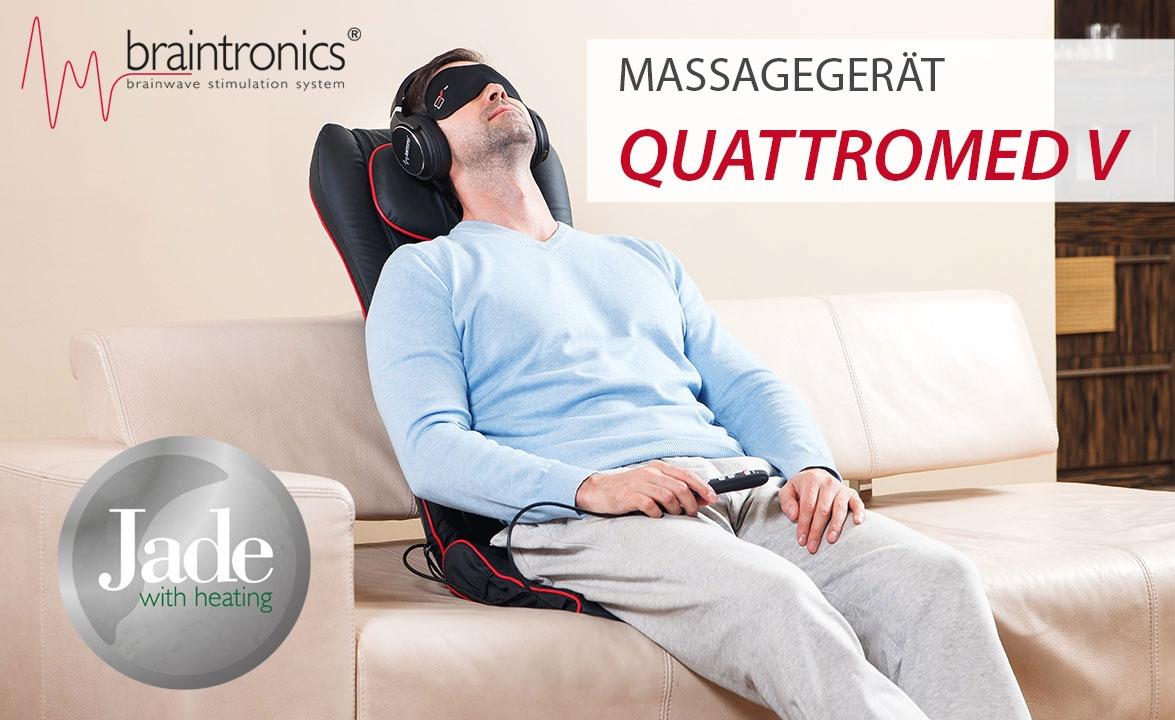 Massagegerät Quattromed V braintronics