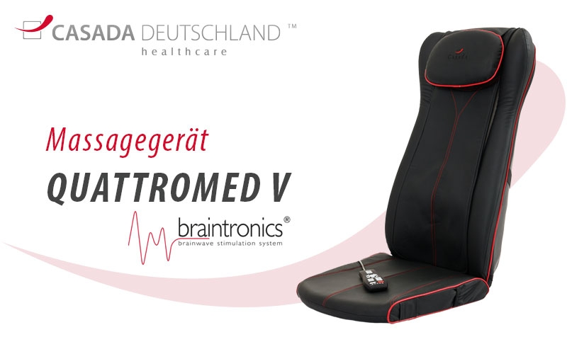 Quattromed V braintronics by Casada Deutschland