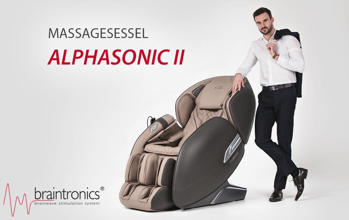 Massagesessel AlphaSonic II