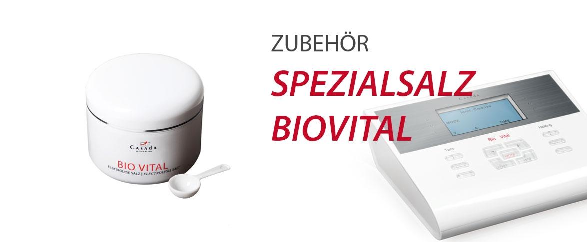 Zubehör Spezialsalz BioVital