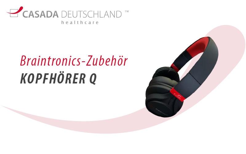 Braintronics Kopfhörer Q by Casada Deutschland