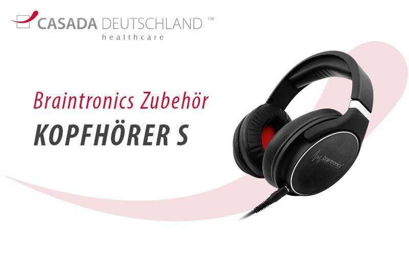 Braintronics Kopfhörer S by Casada Deutschland