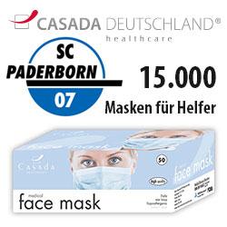 Casada News - Masken für Helfer