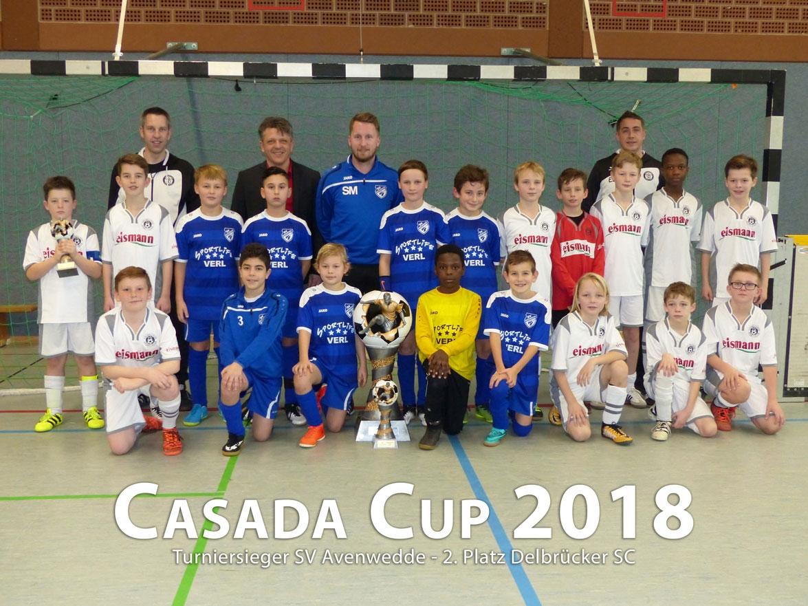 Turniersieger Casada Cup 2018