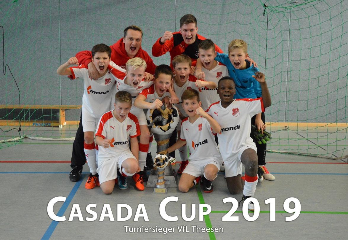 Turniersieger Casada Cup 2019