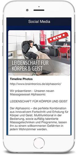 braintronics® II App Social Media
