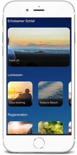 braintronics® II App Titelauswahl